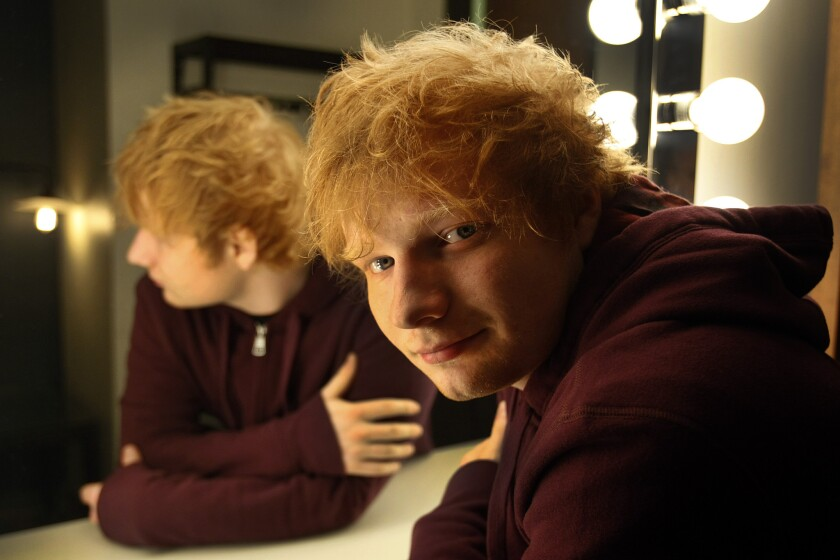 Going to a wedding this weekend? Ed Sheeran will probably be there.