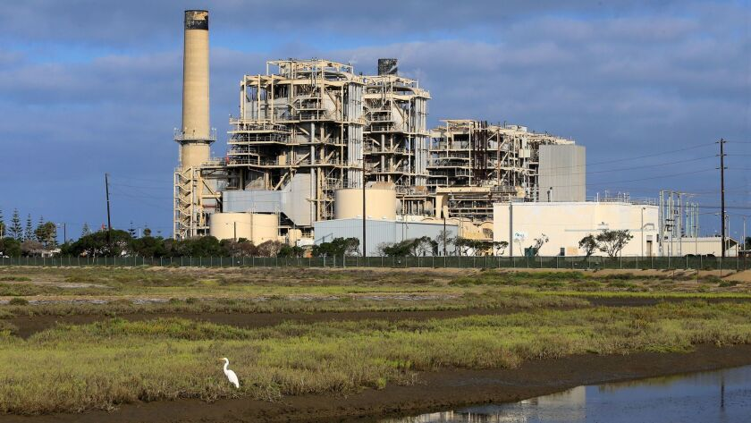 the AES Huntington Beach Generating Station, pictured in 2016