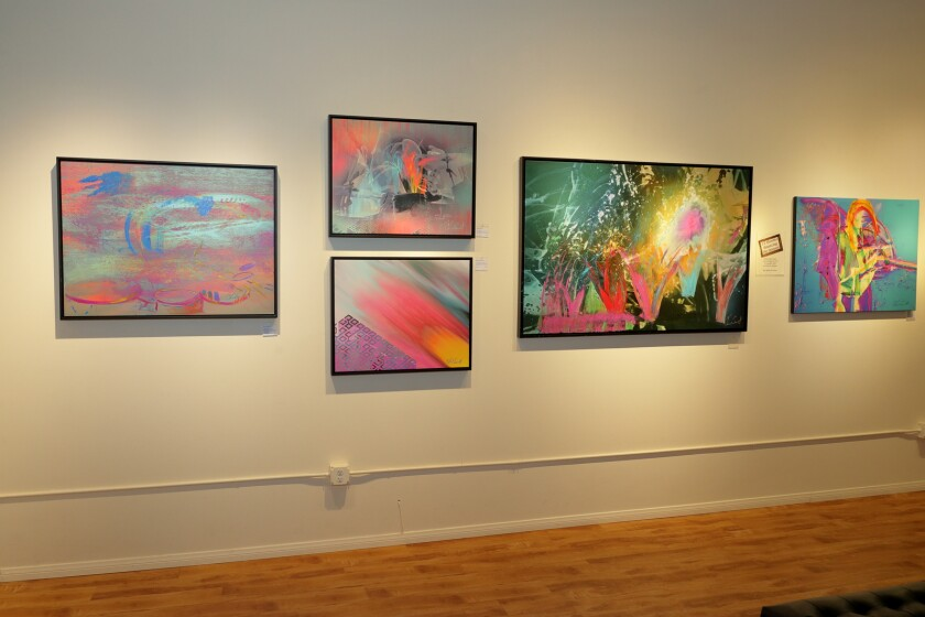 The art of Chad Smith at Exclusive Collections Gallery in Solana Beach