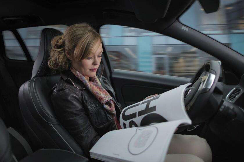 Volvo self-driving pilot program