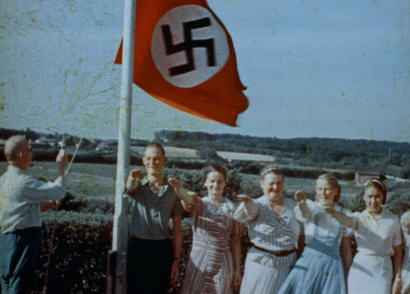 """Hitler Youth are seen in an archival image from the """"Final Account"""" documentary"""