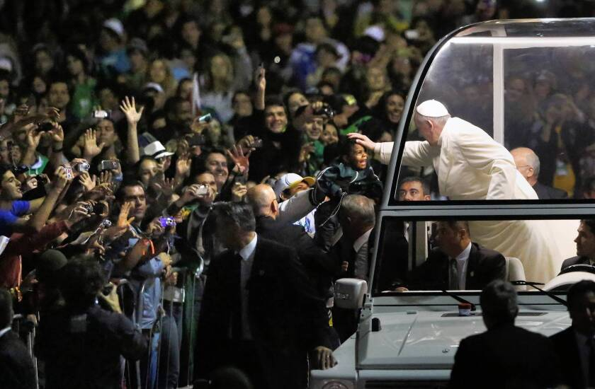 Pope Francis criticizes Brazil's church for 'exodus' of followers