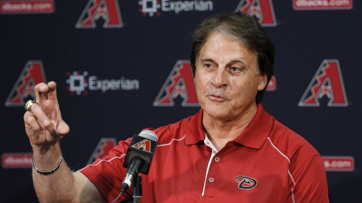 White Sox Hire Angels Executive Tony La Russa 76 As Manager Los Angeles Times