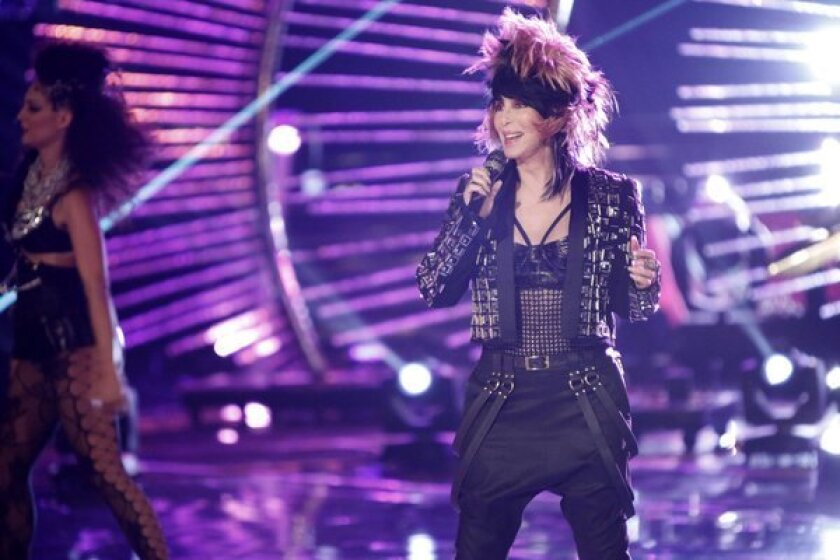 """Cher performs on the season finale of """"The Voice."""""""