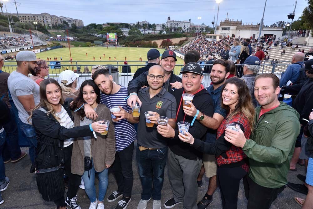Rugby fans enjoyed an intense match between the San Diego Legion and Glendale Raptors at USD's Torrero Stadium -- with a win by Legion! -- on Saturday, June 23, 2018.