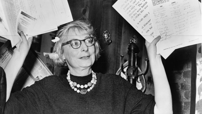"Jane Jacobs as seen in Matt Tyrnauer's documentary ""Citizen Jane: Battle for the City."""