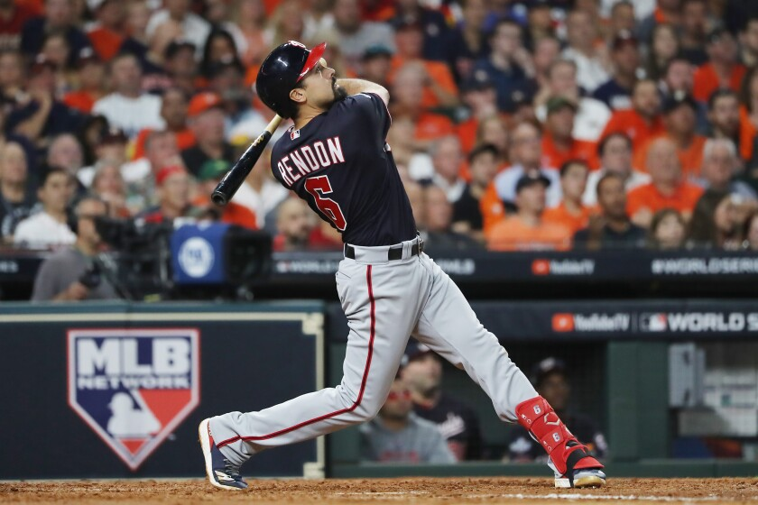 """Image result for anthony rendon world series"""""""