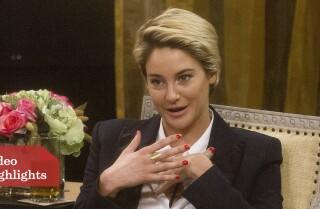 Oscars Round Table: Shailene's character
