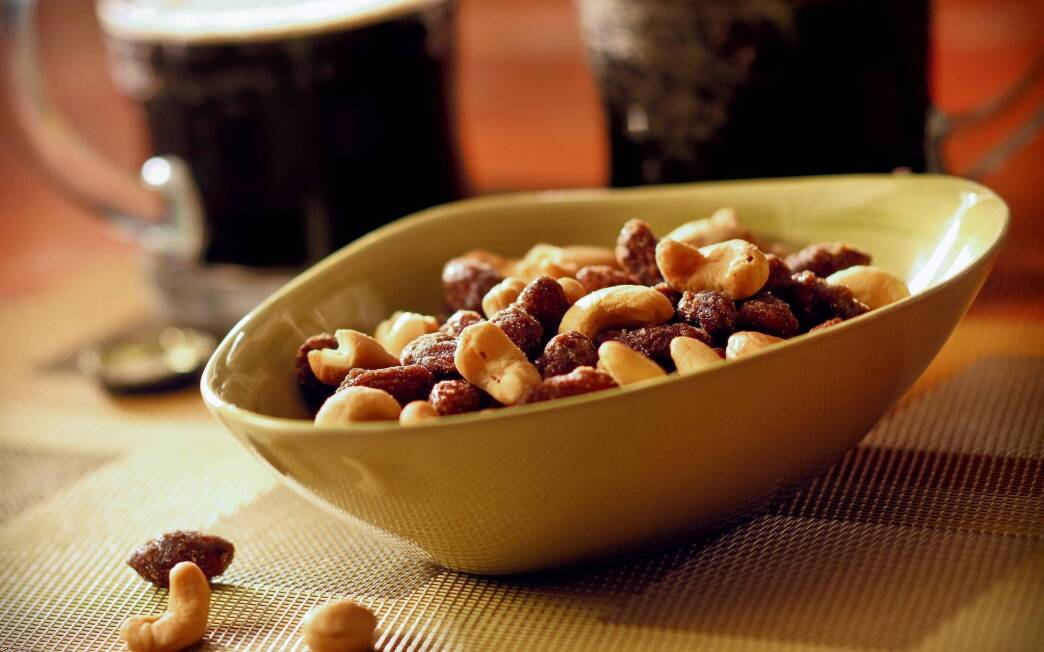Deschutes Brewery's beer nuts