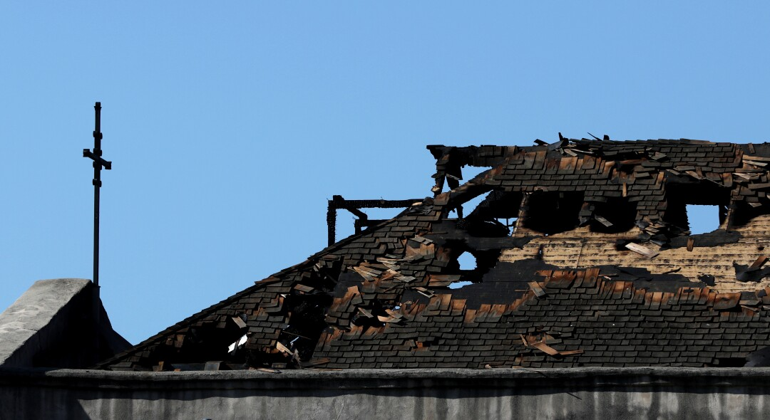 "A fire caused ""extensive damage"" to the historic 249-year-old San Gabriel Mission."