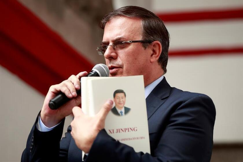 Senado mexicano ratifica nombramiento de canciller Marcelo Ebrard