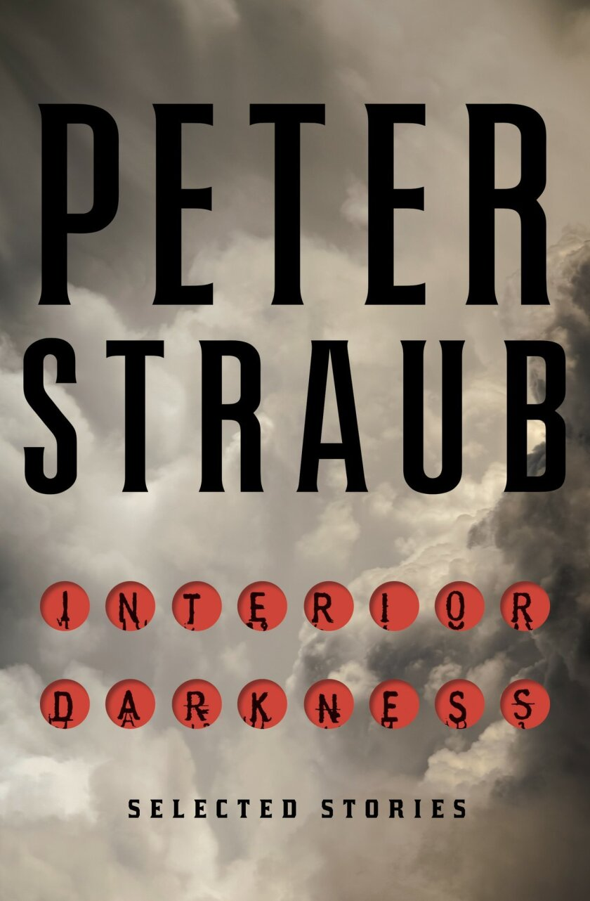 "This book cover image released by Doubleday shows ""Interior Darkness,"" selected stories by Peter Straub. (Doubleday via AP)"