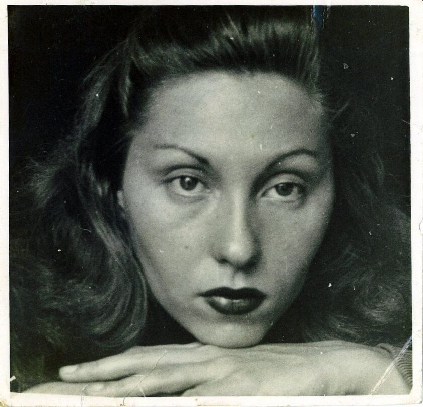 "Clarice Lispector in a photograph featured in the book ""The Besieged City,"" by Clarice Lispector. Cr"