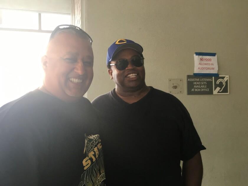 Manuel Douglas and Robert Garrett