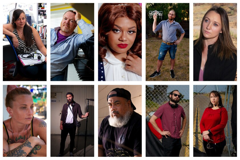 Faces of the arts shutdown: The Stagehands