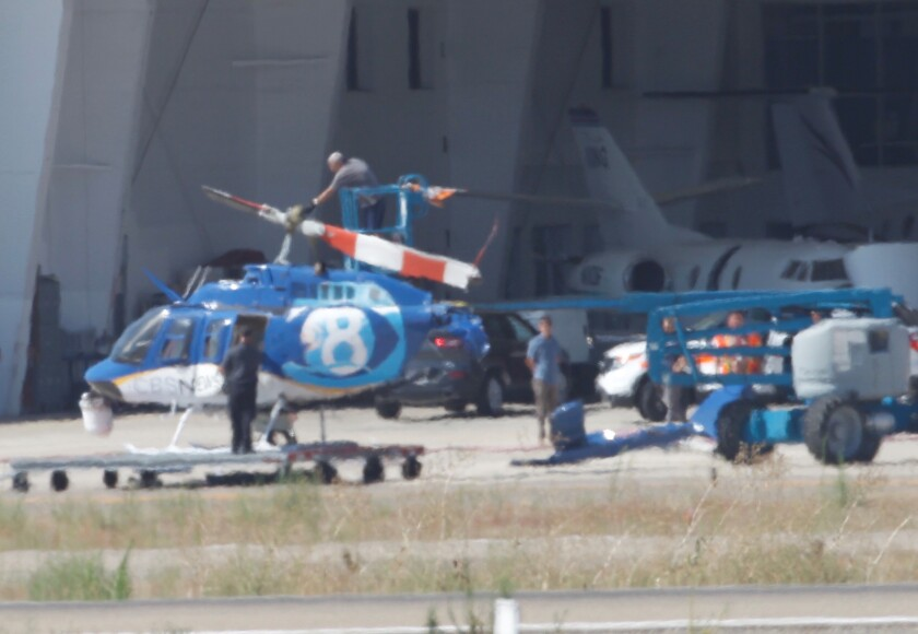 News 8 helicopter crash