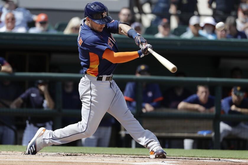 APphoto_Astros Tigers Baseball