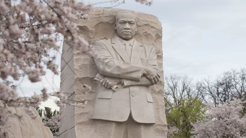 The Stone of Hope at the Martin Luther King Jr. Memorial in Washington