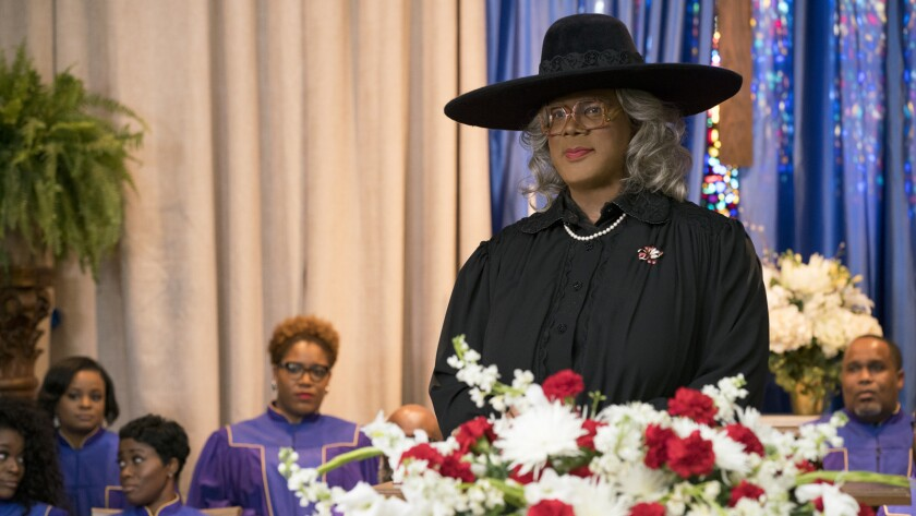 Review: In 'A Madea Family Funeral,' Tyler Perry's matriarch