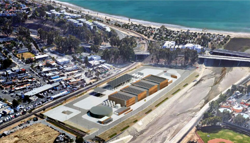 The Doheny Ocean Desalination Project would sit on South Coast Water District property in Dana Point