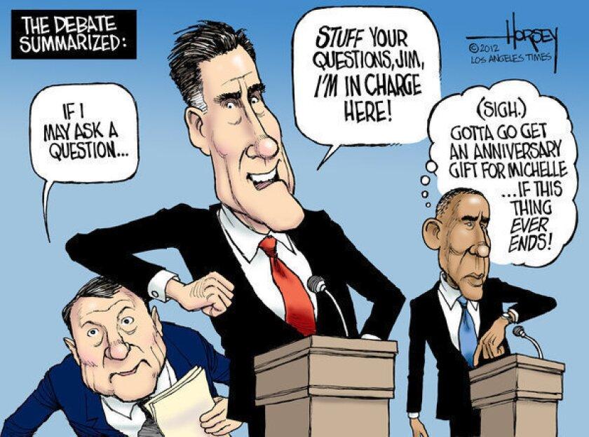 Mitt Romney dominates first presidential debate
