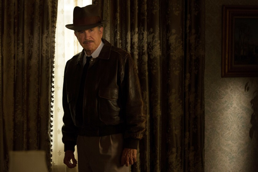 """Warren Beatty plays Howard Hughes in """"Rules Don't Apply,"""" in theaters on Nov. 23."""