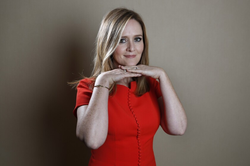 Samantha Bee talks about diversity in late night