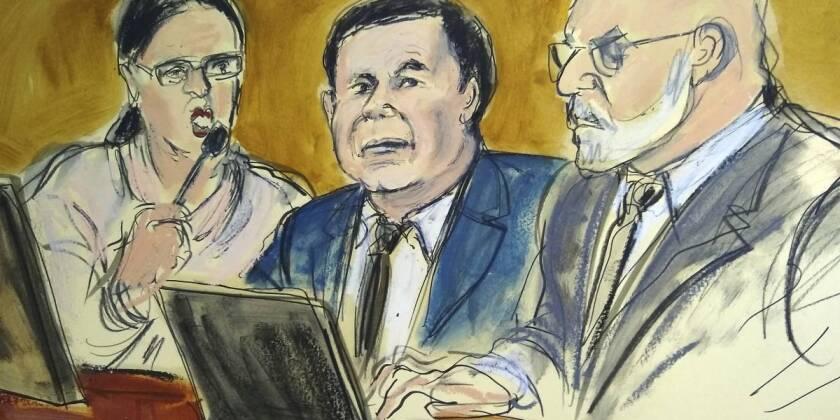 Luego de estas instrucciones dadas por el magistrado, el jurado informó que ya tiene el veredicto contra el Chapo.