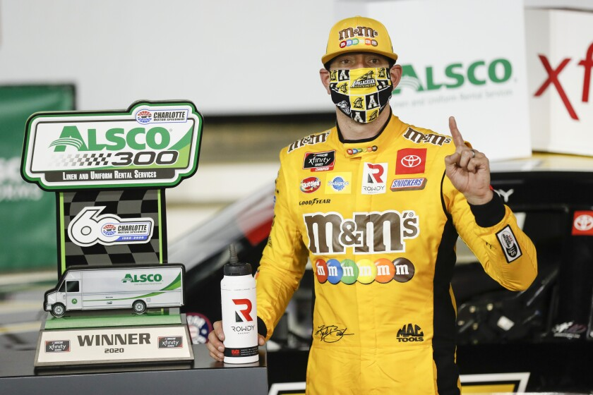 NASCAR Charlotte Xfinity Auto Racing