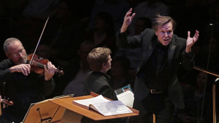 Los Angeles Master Chorale artistic director Grant Gershon