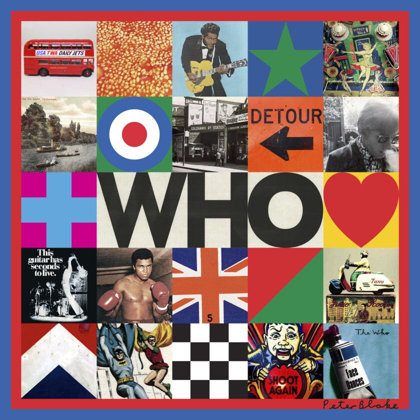 "This cover image released by Interscope Records shows ""Who,"" by The Who. (Interscope via AP)"