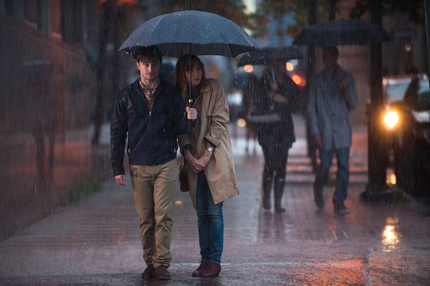 "Daniel Radcliffe, left, and Zoe Kazan are charming in ""What If,"" but overall the film is more exhausting than engaging."