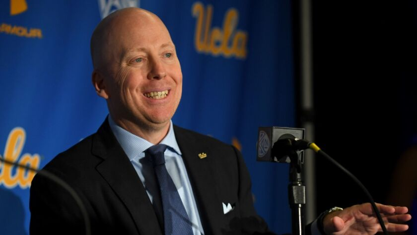 UCLA Introduce Mick Cronin