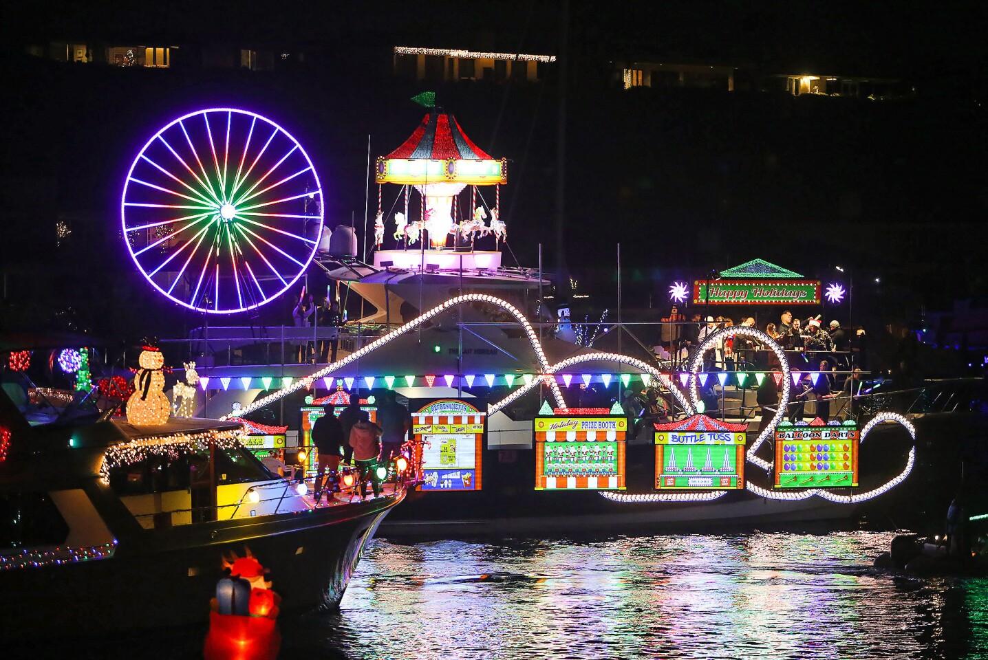 The 110th Newport Beach Christmas Boat Parade
