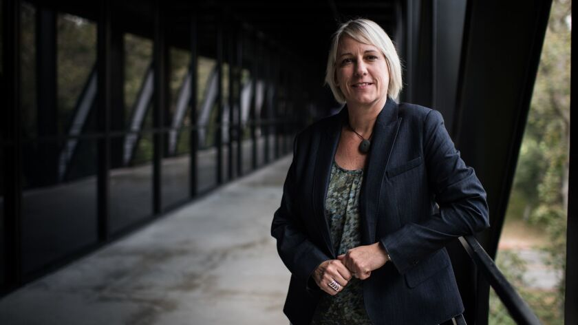Karen Hofmann, the new provost of the Art Center College of Design, is the first woman to hold the highest academic position at the school in its 88-year history.