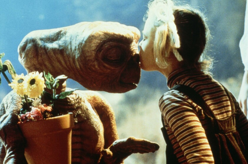 """An image from the movie """"E.T. The Extra-Terrestrial."""""""