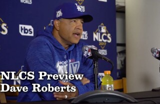 Dave Roberts on NLCS Game 4 and getting the team's mind in the right place