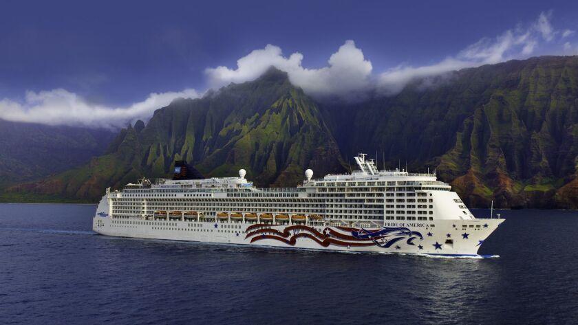 NCL Cruise Line, Pride of America, Na Pali Coast, Kauai, Hawaii