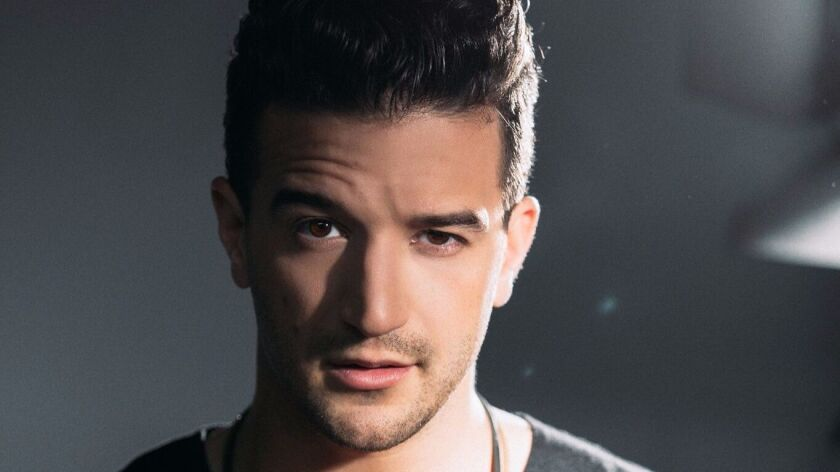 "Mark Ballas stars as Frankie Valli in the national tour of ""Jersey Boys."""