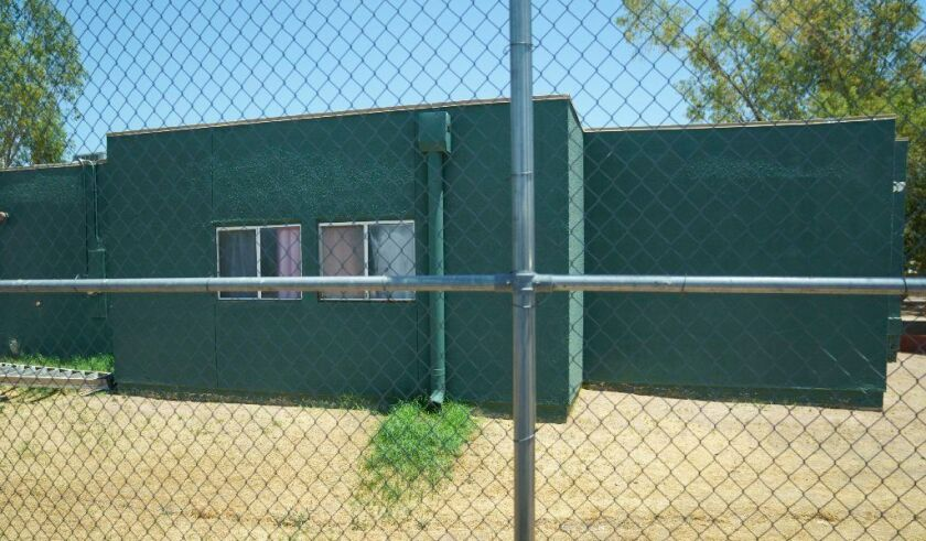 Southwest Key Campbell in Phoenix, Ariz., houses children that have been separated form their parents.
