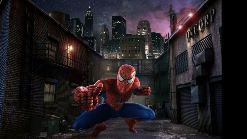 The Amazing Adventures of Spider-Man at Universal Studios