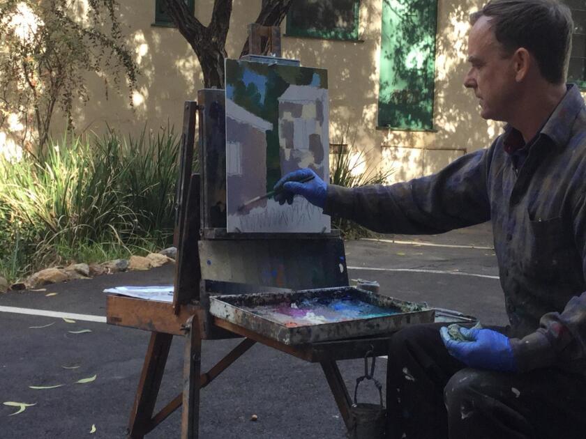 RSF Art Guild presents painter Alex Schaefer