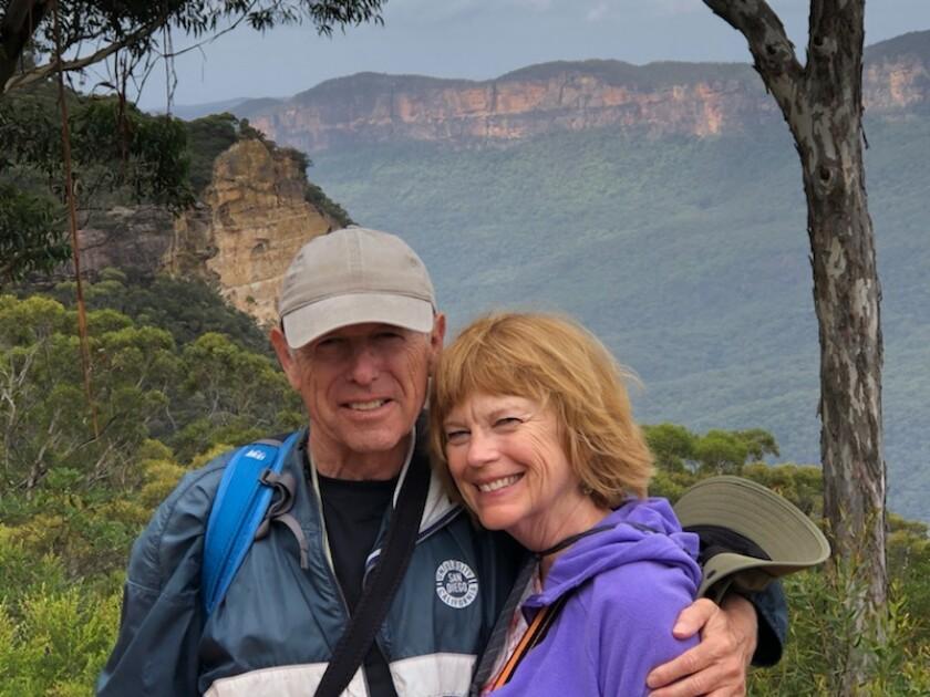 Jan Goldsmith with his wife, Christine Goldsmith.