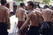 Outlander street team at SDCC