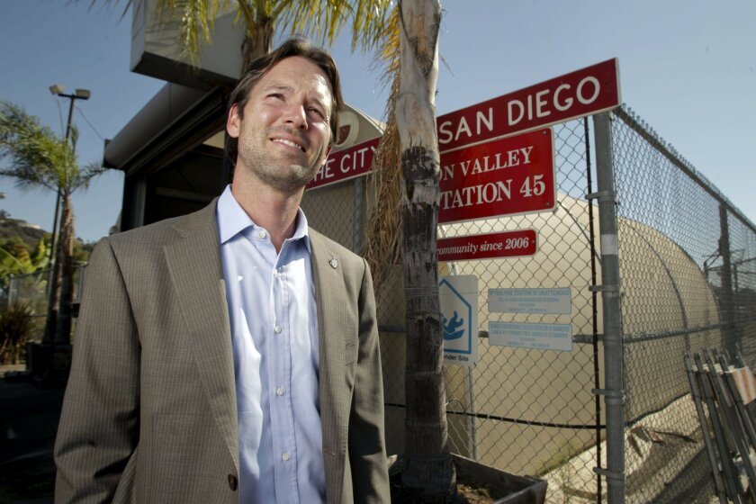 """Proposition H, San Diego City Councilman Mark Kersey's """"Rebuild San Diego"""" measure, advances a big idea with a much-criticized tactic. When it is used to address a problem that has aggravated San Diegans for years — and comes with an escape clause — it becomes less problematic. Vote yes on Proposition H."""