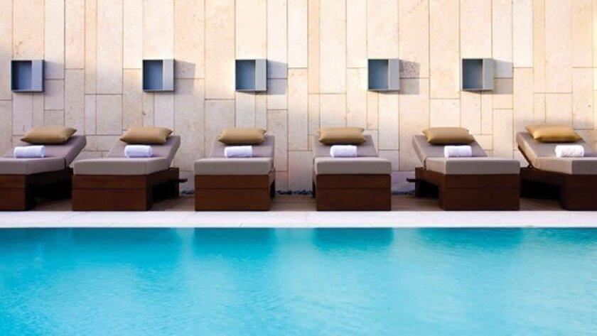 SummerSalt pool at the Palomar San Diego Hotel