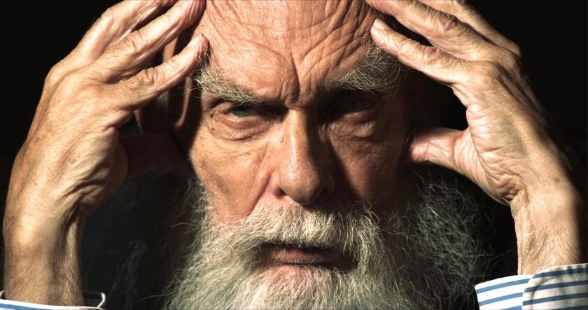 Magician, escape artist and crusading skeptic James Randi.