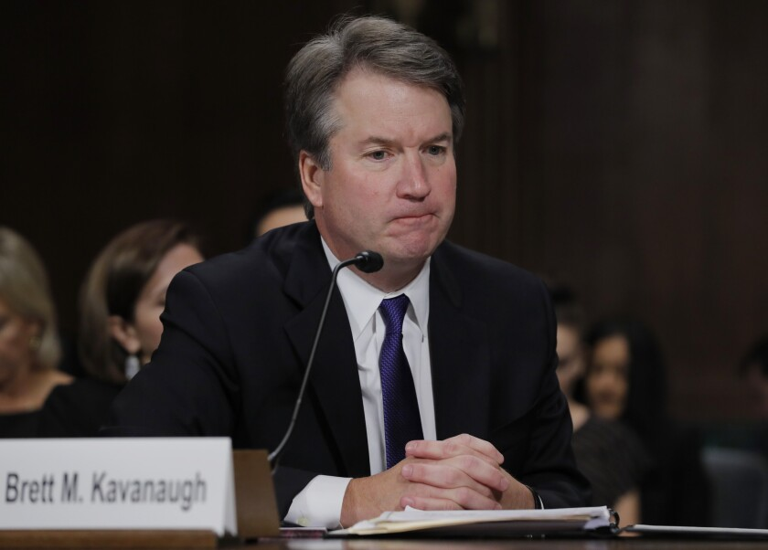 Brett Kavanaugh faces multiple allegations of sexual misconduct.
