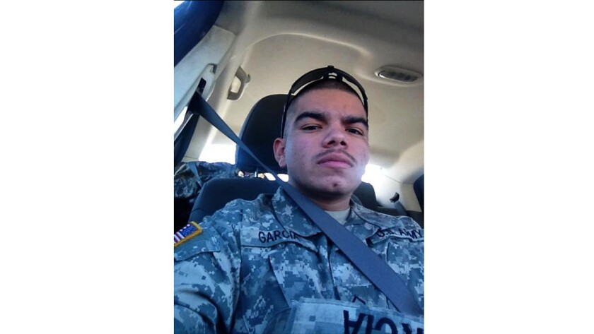 Francisco Garcia, 22, was fatally shot early Saturday following a dispute with a gunman, who remains at large.
