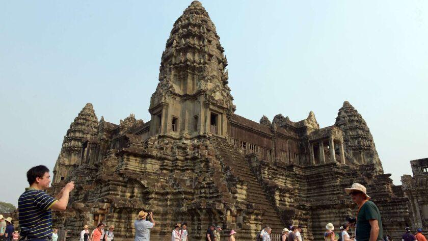 CAMBODIA-TOURISM-ANGKOR WAT
